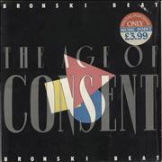 Click here for more info about 'Bronski Beat - The Age Of Consent + Stickered Shrinkwrap'