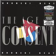 Click here for more info about 'Bronski Beat - The Age Of Consent - Pink Vinyl + Bonus CDs - Sealed'