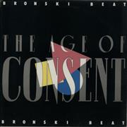 Bronski Beat The Age Of Consent UK vinyl LP