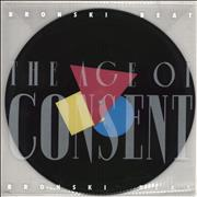 Bronski Beat The Age Of Consent UK picture disc LP