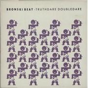 Click here for more info about 'Bronski Beat - Truthdare Doubledare - Purple sleeve'