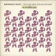 Click here for more info about 'Bronski Beat - Truthdare Doubledare - stickered p/s'