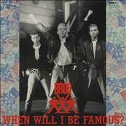 Click here for more info about 'Bros - When Will I Be Famous'