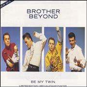Click here for more info about 'Brother Beyond - Be My Twin - Calendar Poster Sleeve'