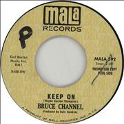 Click here for more info about 'Bruce Channel - Keep On - A label'