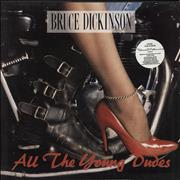 Click here for more info about 'Bruce Dickinson - All The Young Dudes - Stickered'