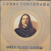 Click here for more info about 'Bruce Dickinson - Tears Of The Dragon - Picture Disc & Clear Vinyl 7