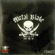Click here for more info about 'Bruce Kulick - Metal Blade - Autographed'