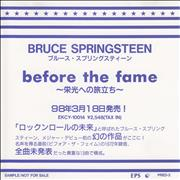 Click here for more info about 'Bruce Springsteen - Before The Fame'