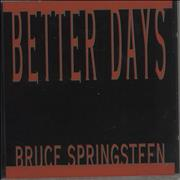 Click here for more info about 'Bruce Springsteen - Better Days'