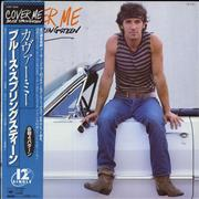 "Bruce Springsteen Cover Me Japan 12"" vinyl"