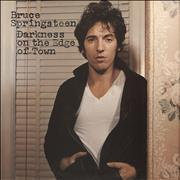 Click here for more info about 'Bruce Springsteen - Darkness On The Edge Of Town - gold stamp'
