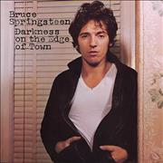Bruce Springsteen Darkness On The Edge Of Town - 1st Netherlands vinyl LP