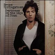 Bruce Springsteen Darkness On The Edge Of Town - Graduated Label UK vinyl LP