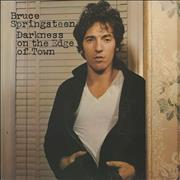 Click here for more info about 'Bruce Springsteen - Darkness On The Edge Of Town - 1st - EX'
