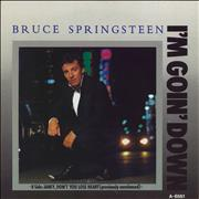 Click here for more info about 'Bruce Springsteen - I'm Goin' Down'