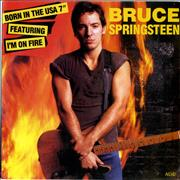 Click here for more info about 'Bruce Springsteen - I'm On Fire - Matte Sleeve'