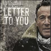 Click here for more info about 'Bruce Springsteen - Letter To You - Black Vinyl Etched'