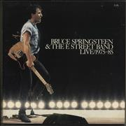 Bruce Springsteen Live 1975-1985 - VG UK vinyl box set