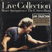 "Bruce Springsteen Live Collection + Poster Japan 12"" vinyl"