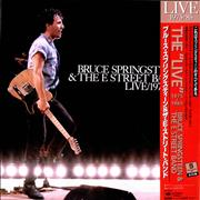 Bruce Springsteen Live/1975-85 + Red Obi & Print Japan vinyl box set