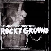 "Bruce Springsteen Rocky Ground UK 7"" vinyl"