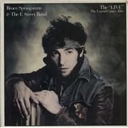 Bruce Springsteen The 'Live' - The Legend Comes Alive - EX Japan vinyl LP Promo