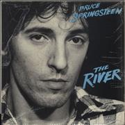 Bruce Springsteen The River + Lyric Insert + Shrink UK 2-LP vinyl set