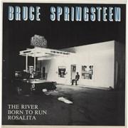 """Bruce Springsteen The River UK 12"""" vinyl"""