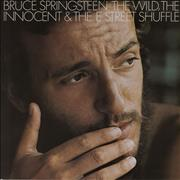 Bruce Springsteen The Wild, The Innocent & The E Street Shuffle UK vinyl LP