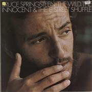 Bruce Springsteen The Wild, The Innocent And The E Street Shuffle UK vinyl LP