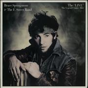 Bruce Springsteen The 'Live' - The Legend Comes Alive + Correct Sheet Japan vinyl LP Promo