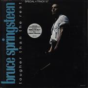 Click here for more info about 'Bruce Springsteen - Tougher Than The Rest - Poster Sleeve'