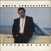 Bruce Springsteen Tunnel Of Love - EX UK vinyl LP