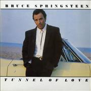 Bruce Springsteen Tunnel Of Love UK vinyl LP