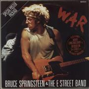 Click here for more info about 'Bruce Springsteen - War - Poster Sleeve'