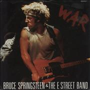 Click here for more info about 'Bruce Springsteen - War - matte sleeve'