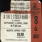 Click here for more info about 'Bruce Springsteen - Wembley Arena 1981'
