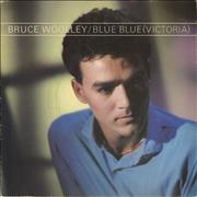 Click here for more info about 'Bruce Woolley - Blue Blue [Victoria] - Blue Shirt Picture Sleeve'