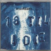 Click here for more info about 'Bryan Adams - 18 Til I Die'