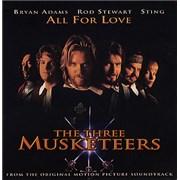 Bryan Adams All For Love USA CD single Promo