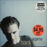 Click here for more info about 'Bryan Adams - Back To You'