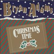 "Bryan Adams Christmas Time UK 12"" vinyl"