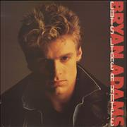 Bryan Adams Cuts Like A Knife - 2nd Issue UK vinyl LP