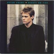 Click here for more info about 'Bryan Adams - Hearts On Fire - Red Vinyl'