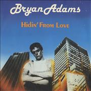 Click here for more info about 'Bryan Adams - Hidin' From Love'