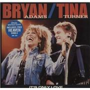 "Bryan Adams It's Only Love + Heaven - Double Pack UK 7"" vinyl"