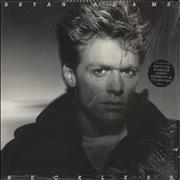 Click here for more info about 'Bryan Adams - Reckless - Black Stickered Sleeve'