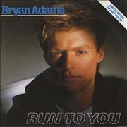 Click here for more info about 'Bryan Adams - Run To You - Poster Sleeve'