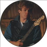 """Bryan Adams Somebody UK 7"""" picture disc"""
